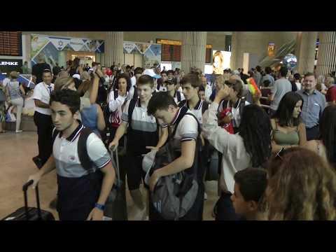 Maccabiath 2017: Türk Takımı Sıcak Karşılandı