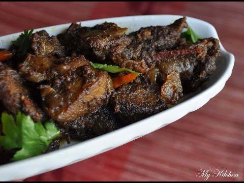Kerala Style Pork Roast / Pork Ularthiyathu
