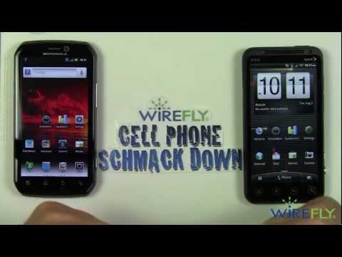 Schmackdown! Motorola Photon 4G vs HTC EVO 3D