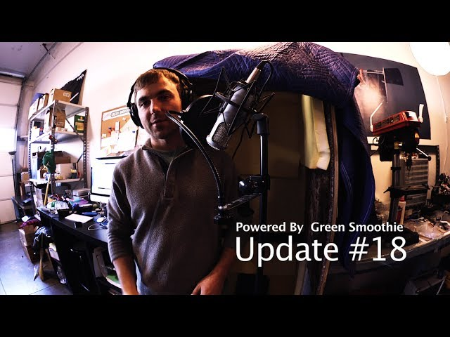 Powered By Green Smoothie Update #18 (making a sound booth)