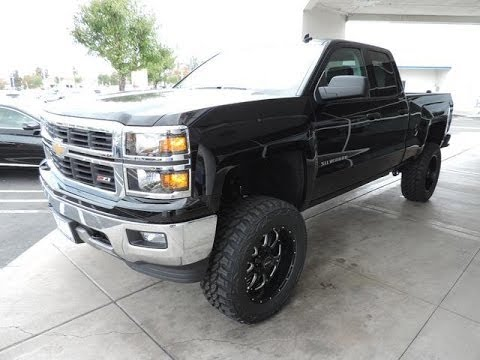 New Lifted 2014 Chevrolet Silverado 1500 Lt Double Cab