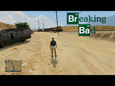 Breaking Bad GTA 5 Parody & Random Funny Clips