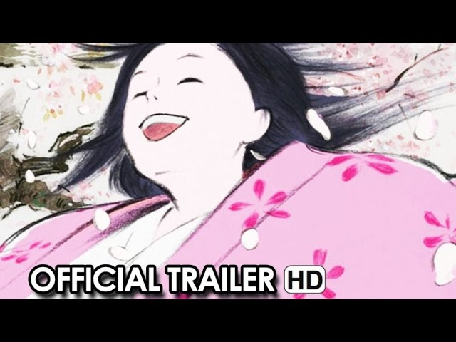 The Tale of The Princess Kaguya Official Trailer (2014) Chloe Grace Moretz, James Caan HD