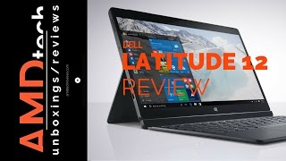 Dell Latitude 12 7000 Series Review:  4K Business 2-in-1