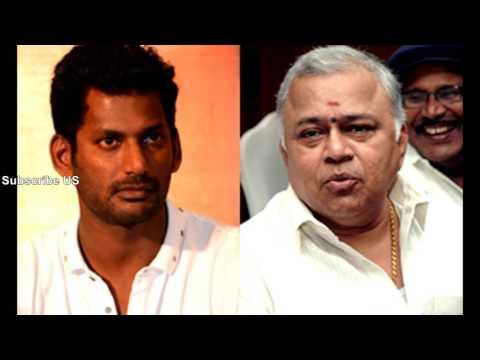 ராதாரவி பற்றி இப்படியா சொன்னார் விஷால்| kollyTube | Tamil Cinema News