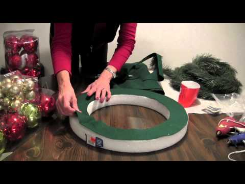 How To: Christmas Ball Wreath