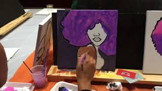 Sip and Paint Party in Atlanta