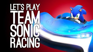 Team Sonic Racing Gameplay: Luke & Ellen Team Up - HOW DO YOU LIKE THAT, AMY?!