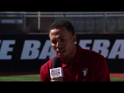 2018 NM State Baseball Media Day: Marcus Still