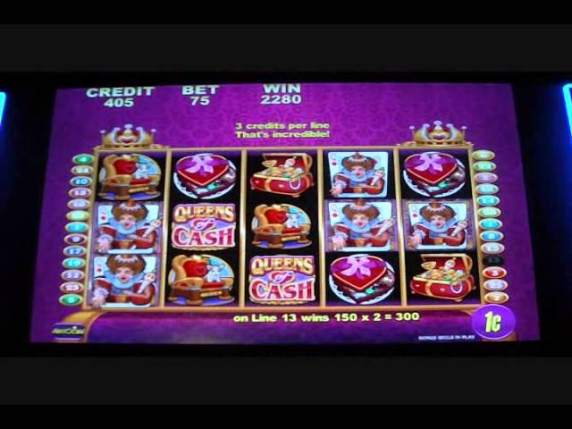 Queens of Cash Free Spins Slot Bonus Round