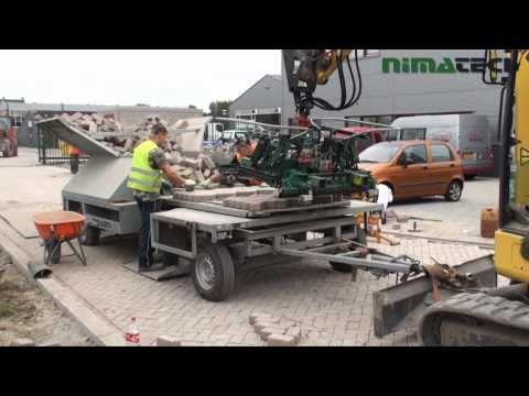 Nimatech herbestratings aanhangwagen