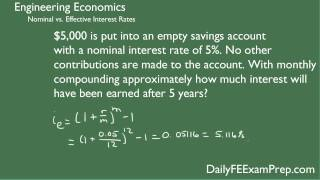 Download Lagu Daily FE Exam Prep Engineering Economics Problem 1 - Interest Rates Gratis STAFABAND