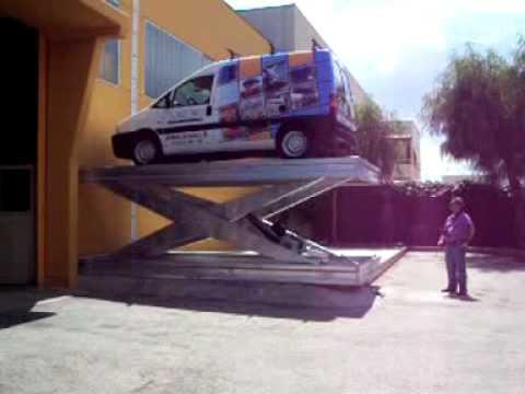 ilmontauto.it piattaforma singolo pantografo montauto Expert