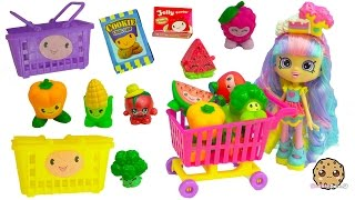Shopping Pals Go To Small Mart Store With Shoppies Rainbow Kate Doll  Season 6 Shopkins