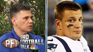 Can Patriots find Rob Gronkowski's replacement in draft?   Pro Football Talk   NBC Sports