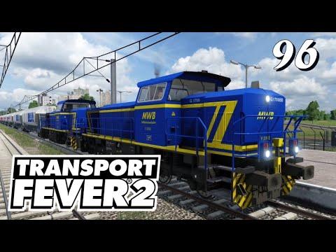 Transport Fever 2 S6/#96: In modernem Gelb-Blau nach Radis rein [Lets Play][German][Deutsch]