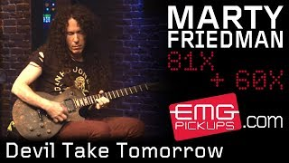 "Marty Friedman - EMG pickupsが""Devil Take Tomorrow""のスタジオ・ライブ映像を公開 thm Music info Clip"