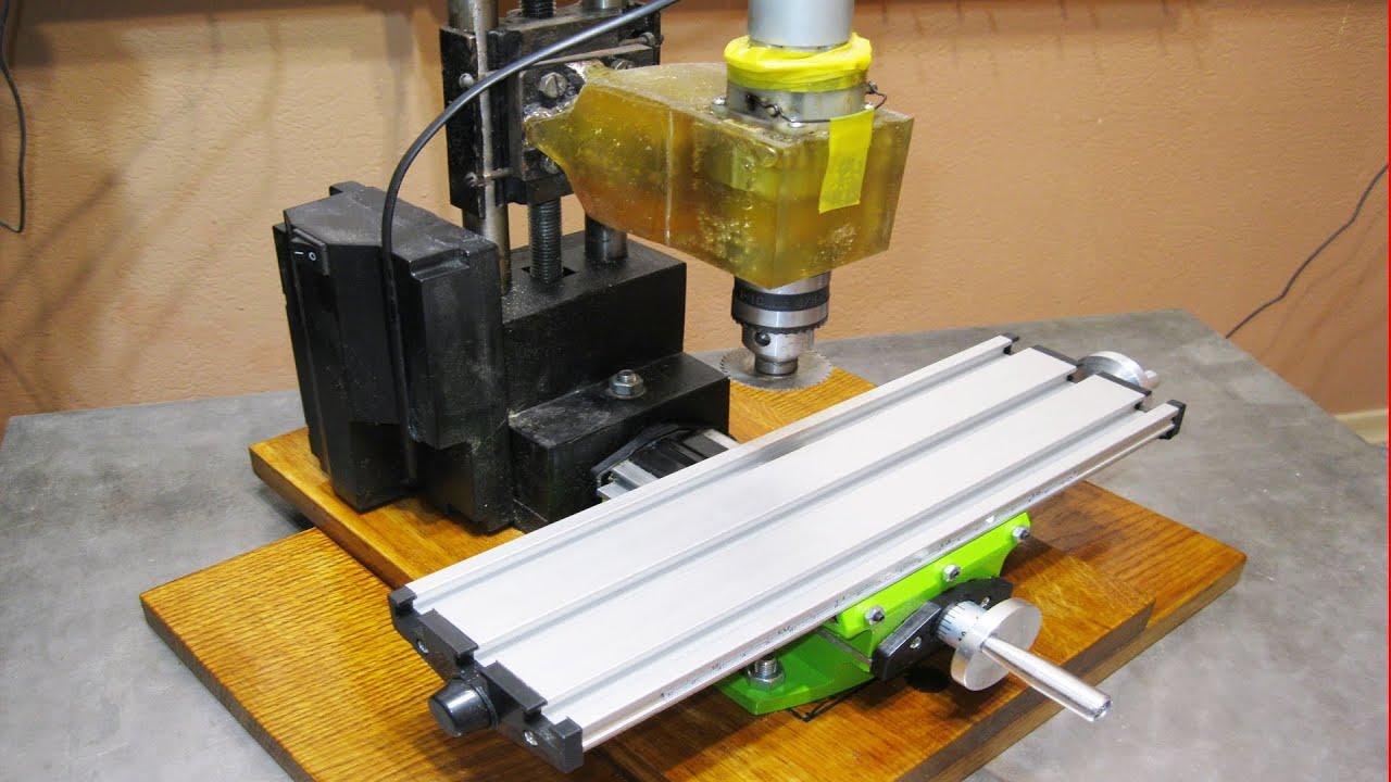 Как сделать из ручного фрезерного станка станок