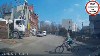 Stop Cham #61 - Niebezpieczne i chamskie sytuacje na drogach