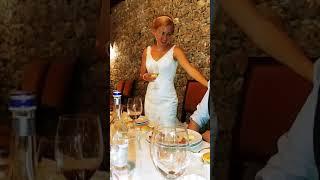Leanne's wedding speech.