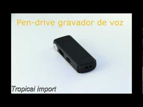 Exclusivo! Pen-drive spy Gravador de voz