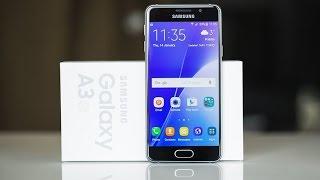 Распаковка и обзор смартфона Samsung Galaxy A3 (2016)