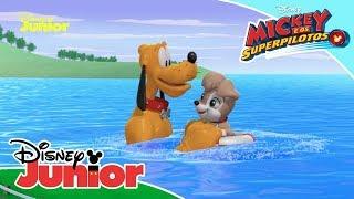 Mickey e os Superpilotos - Momentos Mágicos: Mickey e Pluto Salvam a Cachorrinha