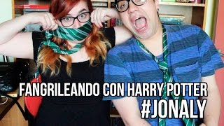 Fangrileando con Harry Potter con Poly (Made of Papers) #Jonaly