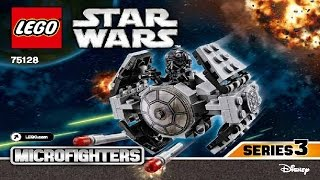 LEGO Star Wars 75128 TIE Advanced Prototype Microfighter (Instruction Booklet)