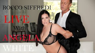 Rocco Goes LIVE With Angela White