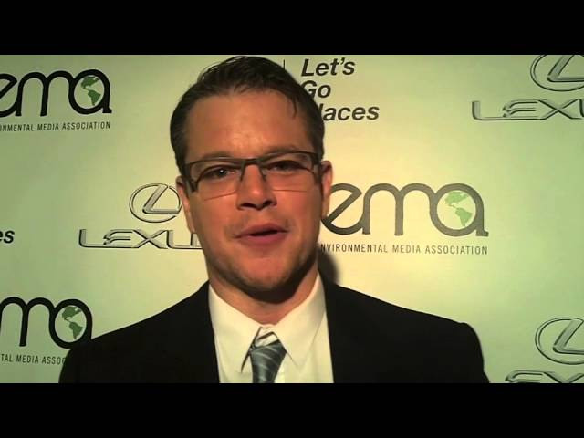 Matt Damon at the 2013 EMA Awards