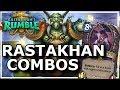 Hearthstone - Best of Rastakhan's Rumble Combos
