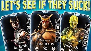 MKX Mobile 1.15. EPIC Shao Kahn Diamond Outworld Team! IT