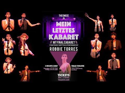 Mein Letztes KABARET //My Final Cabaret\