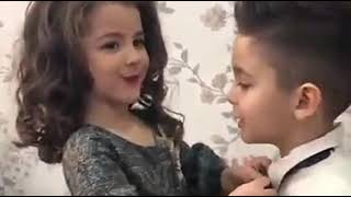 Funny video cute baby couple 2018
