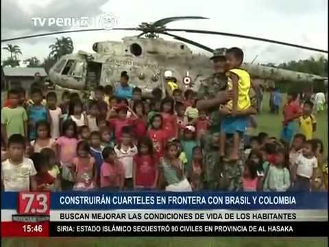 EJERCITO DEL PERU SE INSTALA EN FRONTERA