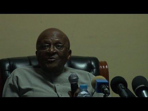 Tutu calls for peace in South Sudan