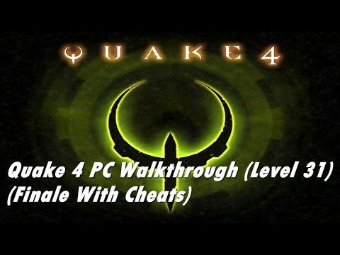Quake 4 Level 31 - The Nexus (with cheats)