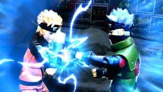 Naruto VS Kakashi stop motion fight