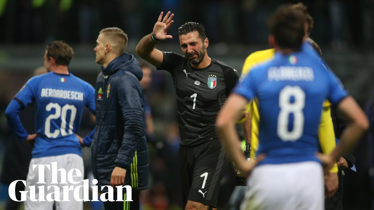 Gianluigi Buffon retires from Italy duty after failure to qualify for World Cup