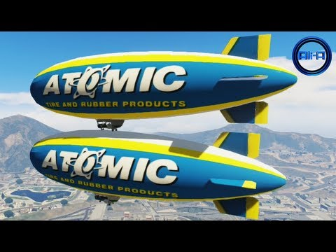 GTA 5 GAMEPLAY - BLIMP ADVENTURE! - (Grand Theft Auto V Blimp Gameplay DLC)