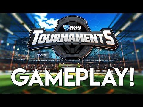 JOIN MY TOURNAMENT! | Rocket League *NEW* Tournament Beta 2018!