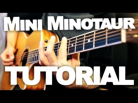 How to Play Mini Minotaur Song by Toby Turner (TOBUSCUS) - Rhythm Guitar Tutorial