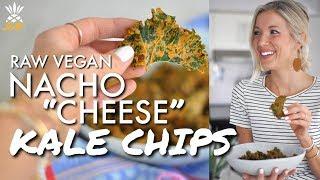 Raw Vegan Cheesy Kale Chips (aka Guilt-Free Doritos)
