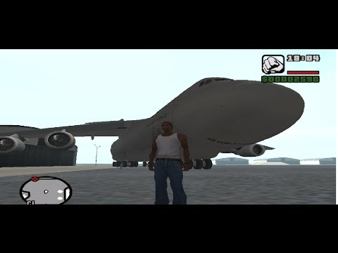 Instalar un avion de carga en Grand Theft Auto San Andreas PC | LOQUENDO