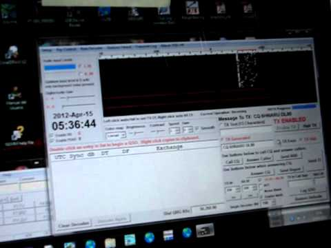 6H6IARU - XE1GZU 6m JT65 15 April 2012