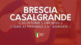 Serie A1F [5^]: Brescia - Casalgrande 24-23