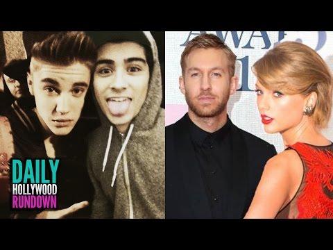 Justin Bieber SAD Zayn Malik Left One Direction? - Taylor Swift's PDA With Calvin Harris (DHR)