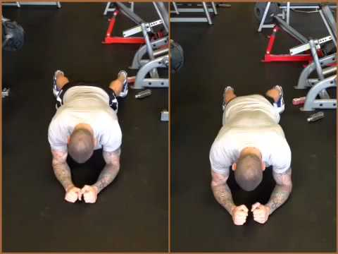 Randy Orton Demonstrates Plank Progressions