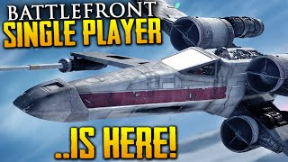 Why Star Wars Battlefront: Skirmish Offline Singleplayer Is So Epic (+ BREAKDOWN)